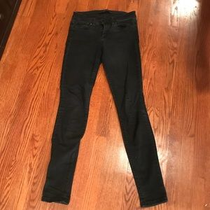 Black skinny jeans, joe's